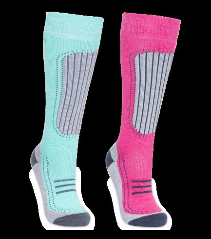 trespass-jr-janus-ii-ski-sock-fasoskm20001-lpl-boerne-skisokker-pink-turkis